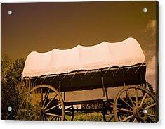 Conestoga Wagon Acrylic Print by Darren Greenwood