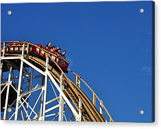 Coney Island Cyclone Acrylic Print by Diane Lent