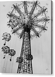 Coney Island Ride Acrylic Print by Archive Photos