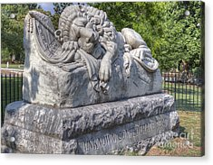 Confederate Memorial Acrylic Print