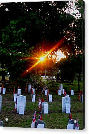 Confederate Sunset Acrylic Print
