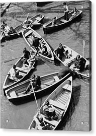 Congested Boating Acrylic Print by Mac Gramlich