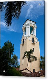 Acrylic Print featuring the photograph Congregational Church Of Coral Gables by Ed Gleichman