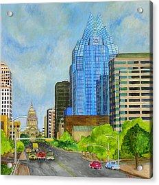 Congress Avenue Austin Texas Acrylic Print