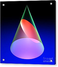 Conic Section Ellipse 6 Acrylic Print