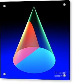 Conic Section Hyperbola 6 Acrylic Print