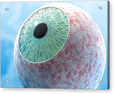 Conjunctivitis, Conceptual Artwork Acrylic Print by David Mack