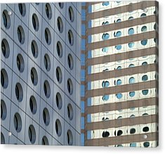 Connaught Centre Acrylic Print by Michael Canning