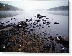 Connecticut Rocks Acrylic Print by Karol Livote