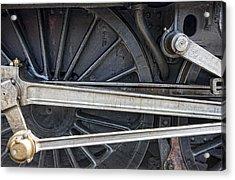 Connecting Rods Of Sir Nigel Gresley Acrylic Print by John Short