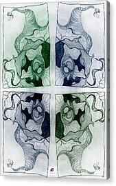 Connections 2 Acrylic Print by Carol Rashawnna Williams