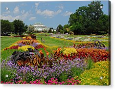 Acrylic Print featuring the photograph Conservatory Gardens by Lynn Bauer
