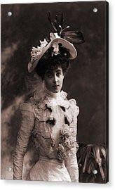 Consuelo Vanderbilt 1877-1964 Acrylic Print by Everett