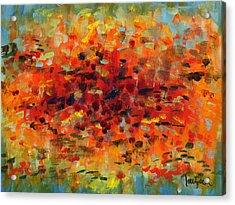Contemporary Art Nineteen Acrylic Print by Lynne Taetzsch