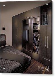 Contemporary Bedroom Acrylic Print by Robert Pisano