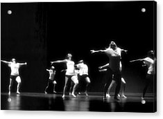 Contemporary Dancers Acrylic Print