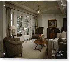 Contemporary Sitting Room Acrylic Print by Robert Pisano