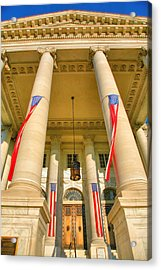 Continental Memorial Hall Acrylic Print by Steven Ainsworth