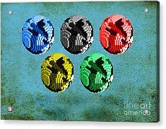Continental Acrylic Print by Vidka Group