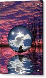Contrasting Skies Acrylic Print