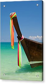 Contrasts Of Asia Acrylic Print by Pete Reynolds
