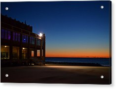Acrylic Print featuring the photograph Convention Hall  Asbury Park by Brian Hughes