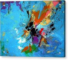 Convergence Acrylic Print by Charles Yates