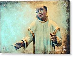 Conversation With God Acrylic Print by Jutta Maria Pusl