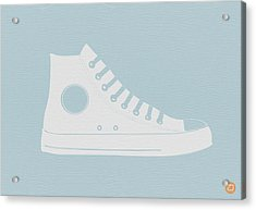 Converse Shoe Acrylic Print by Naxart Studio