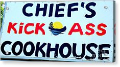 Cookhouse Sign  2 Acrylic Print