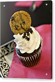 Cookie Acrylic Print by Malania Hammer