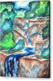 Acrylic Print featuring the painting Cool Afternoons by Cheryl Pettigrew