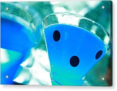 Cool Blue  Acrylic Print by Toni Hopper