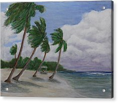 Cool Breeze On The Brac Acrylic Print by Monte Lee Thornton