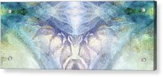 Cool Hues Diptych Acrylic Print