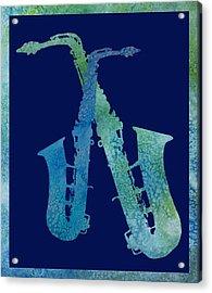 Cool Jazzy Duet Acrylic Print