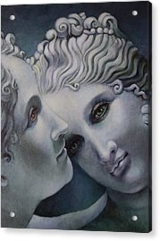 Cool Muses  Acrylic Print by Geraldine Arata