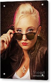Cool Shades Acrylic Print
