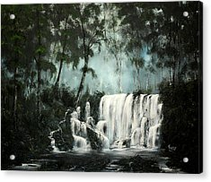 Cool Waters Acrylic Print by Daniel Toney