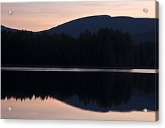 Acrylic Print featuring the photograph Cooper Lake Dawn by Nancy De Flon