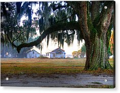 Coosaw Skinning Shed Acrylic Print by Scott Hansen