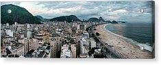 Copacabana Sunset Acrylic Print