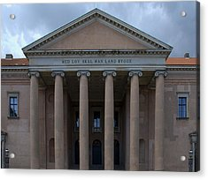 Acrylic Print featuring the photograph Copenhagen Courthouse by Steven Richman