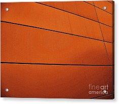 Copper Edge Acrylic Print by Marsha Heiken