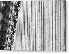 Acrylic Print featuring the photograph Corinthian Columns by John Schneider