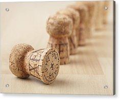 Corks, Close-up Acrylic Print by STOCK4B Creative