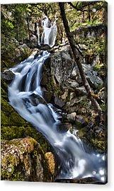 Corlieu Falls Acrylic Print by A A