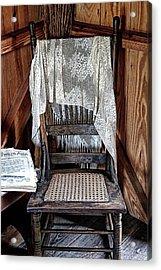 Corner Chair Acrylic Print