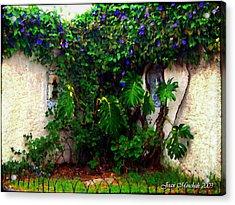 Corner In Uruguay Acrylic Print by Joan  Minchak