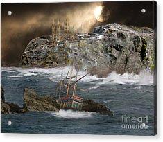 Cornish Wreckers Acrylic Print